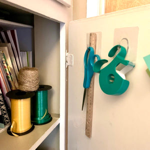 StickIt Hook hanging hooks are great for organizing cupboards