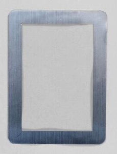 "StickIt Reusable Adhesive Picture Frames – Silver 5"" x 7"""