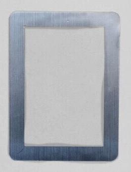 StickIt Reusable Adhesive Picture Frames – Silver 4