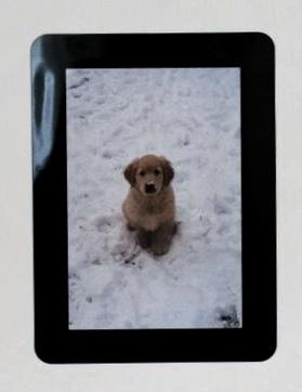 "Stickit Picture Frames -  Black - 4"" x 6"""