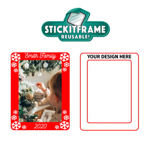 Resuable Picture Frame - Design Your Own StickItFrame - 30 Piece Minimum