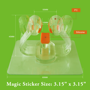 StickIt Hook Broom Holder dimensions