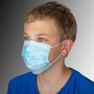 Children's Disposable Protective Masks - 3PLY 50/Pack