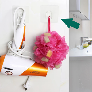 StickIt Hook self-adhesive hanging hooks for use in the bathroom