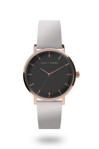 5th Avenue Collection - Rose Gold/Grey - Grey