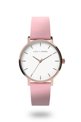 5th Avenue Collection - Rose Gold/White - Pink