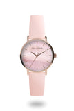 L+S - Capri Collection Watch - Blusk Pink/Rose Gold