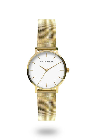 Dartmouth Collection - Gold Mesh