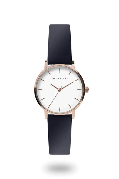 Dartmouth Collection - Rose Gold - Navy