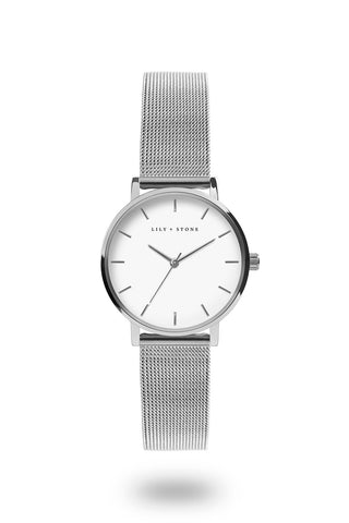 Dartmouth Collection - Silver Mesh