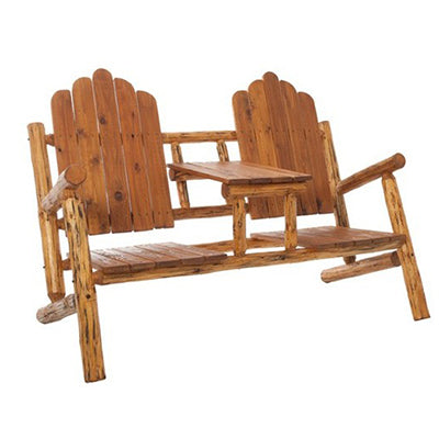 Paradise Divide Double Log Chair