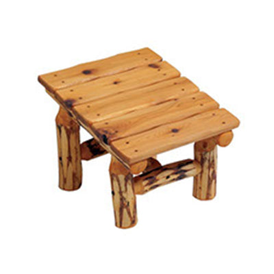 Forest Queen Log Footstool
