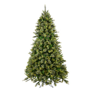 "6.5' x 49"" Cashmere Pine LED500WmWht christmas tree"
