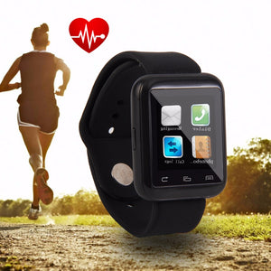 2017 New Arrival U9 Bluetooth Smart Watch Anti-lost for Android Mobile Phone Bracelet Pedometer Tool pk u8 dz09 xiaomi