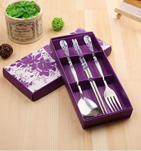 Dishes Fork Dinnerware Stainless Steel Cutlery Set Tableware Wedding Feast Gift