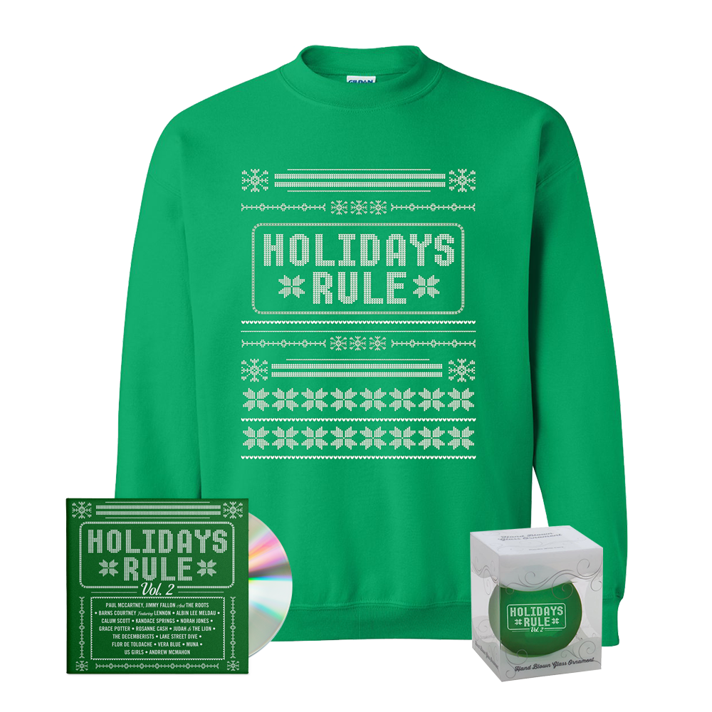 CD + Christmas Sweater + Ornament – Holidays Rule | Store
