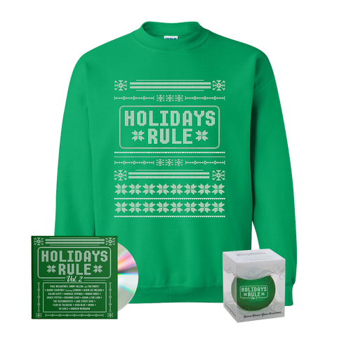 CD + Christmas Sweater + Ornament