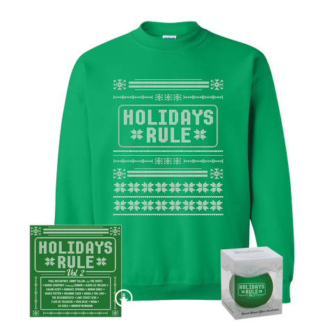 Digital + Christmas Sweater + Holiday Ornament