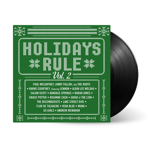 """Holidays Rule"" Vinyl"