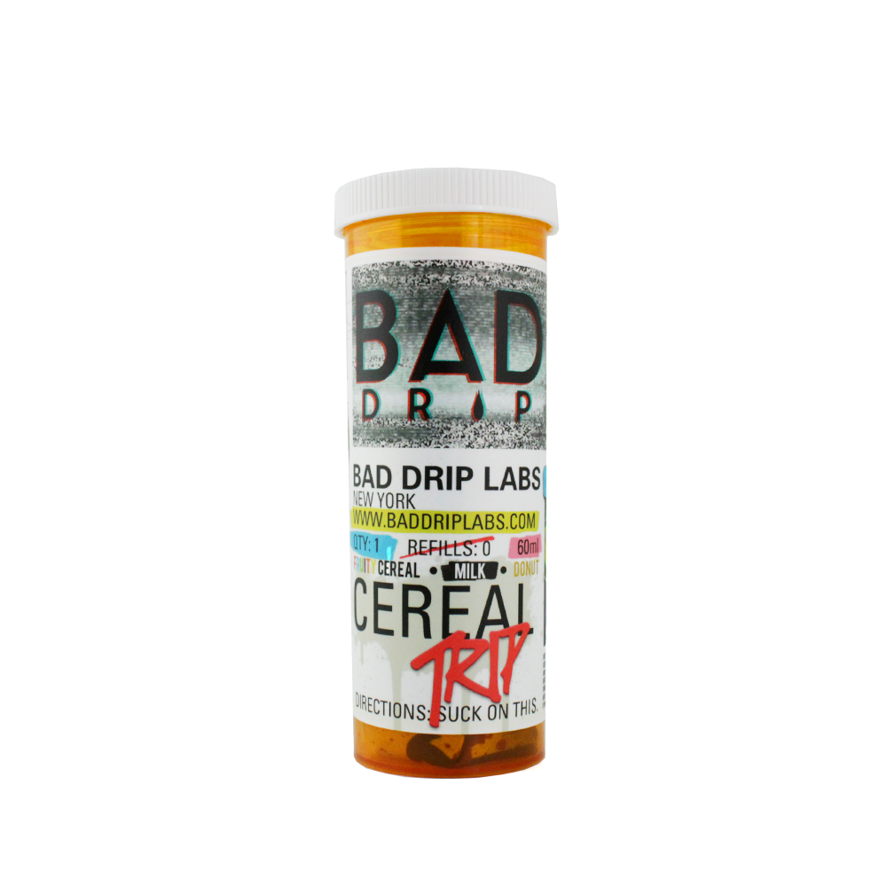 Cereal Trip Box Bad Drip E-Juice - Cheap Juice