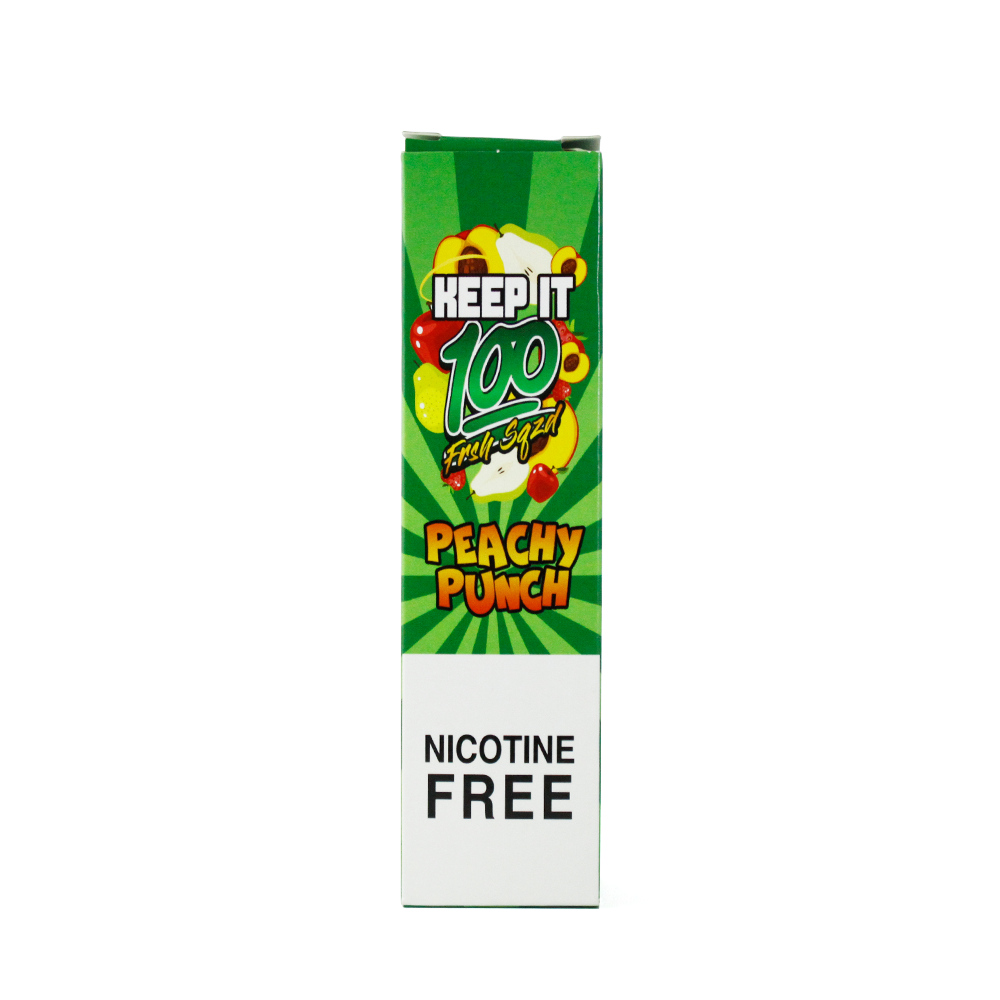 Peachy Punch Keep It 100 E-Juice Box - Cheap Juice