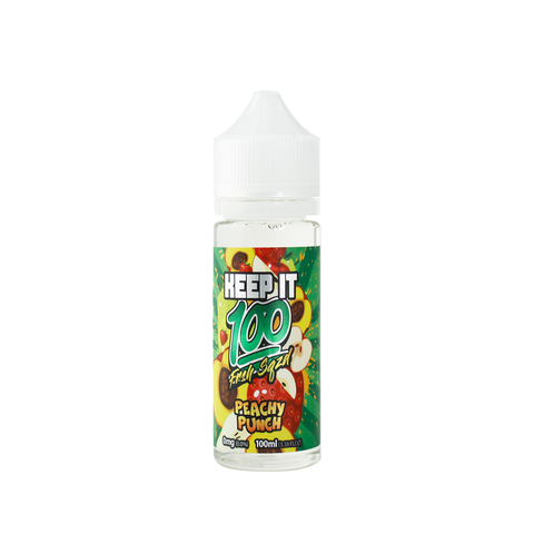 Peachy Punch Keep It 100 E-Juice - Cheap Juice