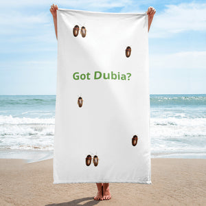 Got Dubia? Bathroom / Beach Towel - M.R. Pet Supplies