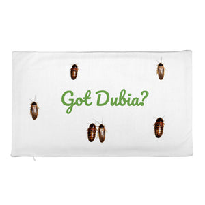 Got Dubia? Rectangular Pillow Case only - M.R. Pet Supplies