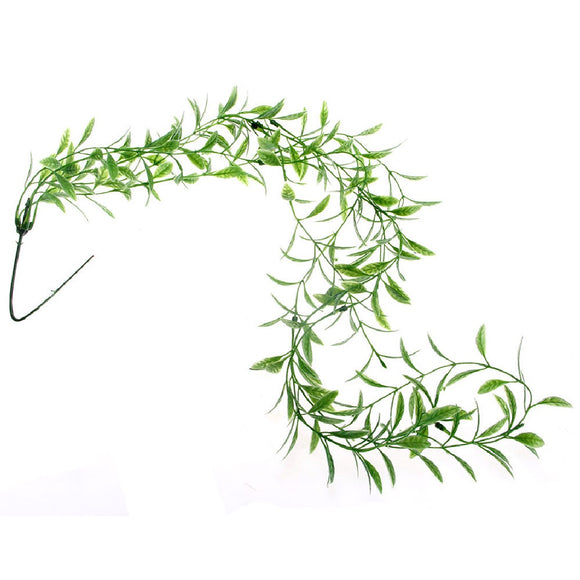 Fake Ornament Reptiles Terrarium Plastic Willow Vine Habitat Decor - M.R. Pet Supplies