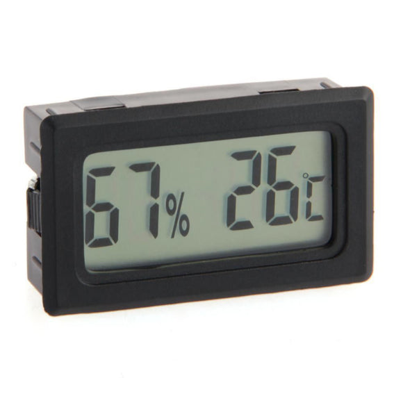 Digital Temperature Thermometer Hygrometer Humidity Meter - M.R. Pet Supplies