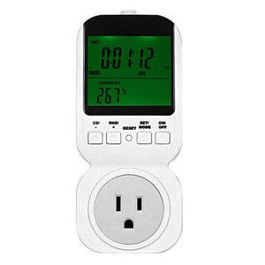 TS-4000 Multi-function Thermostat Timer Switch Socket with Sensor Probe Adjustable 12/24 Hour LCD Display - M.R. Pet Supplies