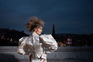 Styled Photoshoot - Photographed by and for Rachel Scott Couture with dresses by Vivienne Westwood.