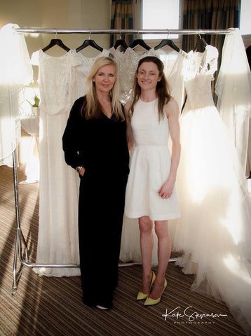 Rachel Scott Couture and Amanda Wakeley
