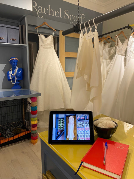 Virtual Appointments at Rachel Scott Couture