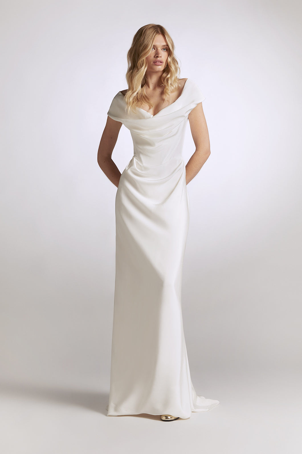 Vivienne Westwood Long Cocotte silk wedding dress