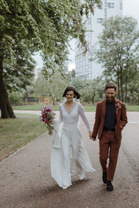 Getting married is a walk in the park!