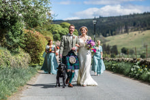 Slinky Temperley Dress for a Colourful Springtime Wedding!
