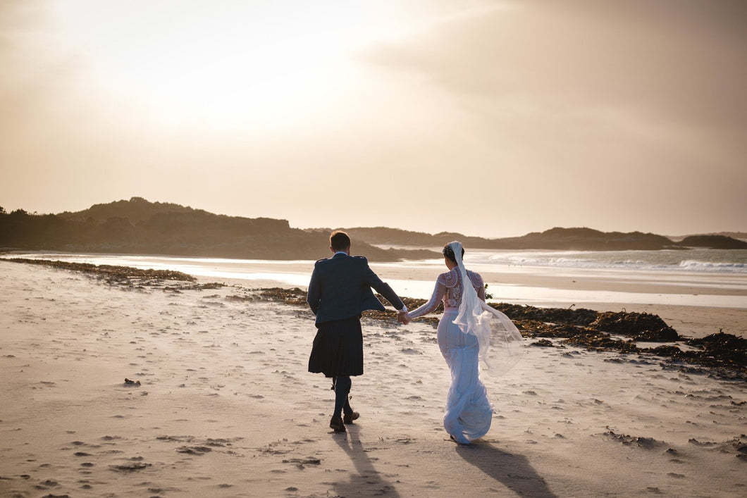 A Brilliantly Blustery Valentines Wedding