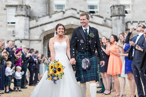A Scottish Summer Wedding Day at Dundas Castle