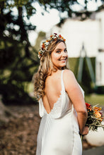 Flower crown for an Amanda Wakeley summer bride!