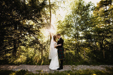 A Beautiful Dappled Summer Wedding Day