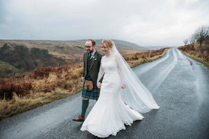 A Moody Winter Wedding!