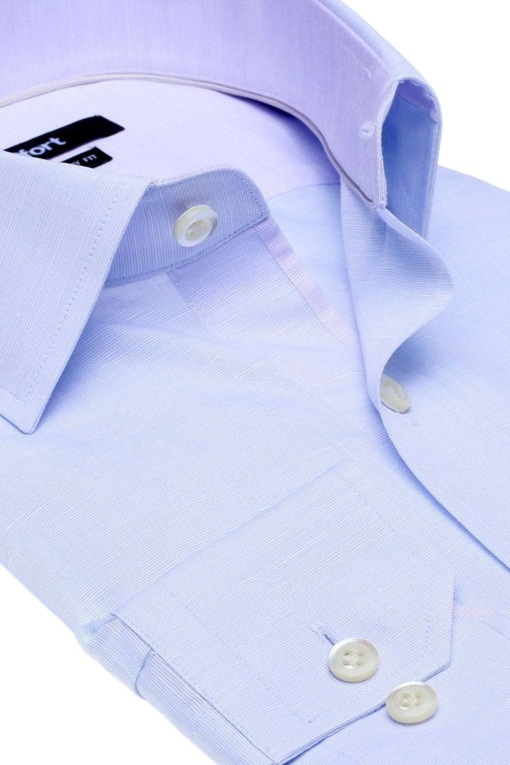 THE TUDOR LINEN SHIRT (BLUE)