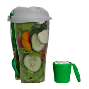 Fresh Salad Cup with Dressing