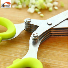 5 Blade Herbs and Vegetable Scissors