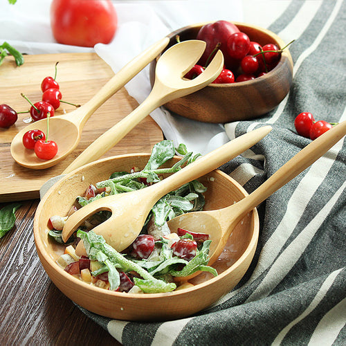 Wooden Serving Spoons (4 Spoons)