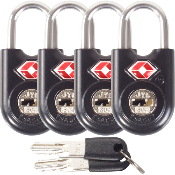 ✅ TSA Key Padlock - Heavy Duty Lock - Travel Sentry Approved for Suitcases, Luggage, Gym Lockers and Tool Boxes