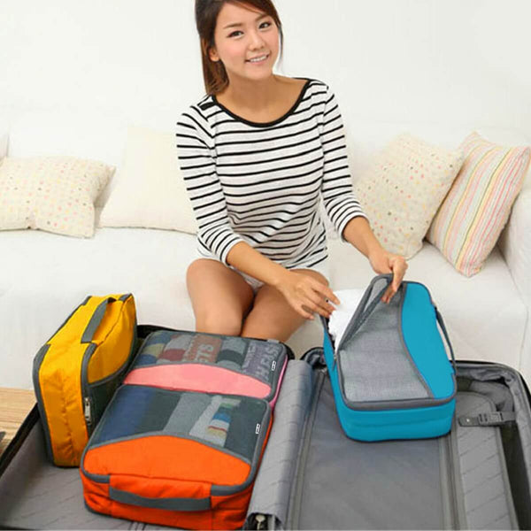 ✅ Space-Saving Go Anywhere Packing Cubes for Suitcases - Lightweight Storage Organisers for all types of Luggage - One-Wear