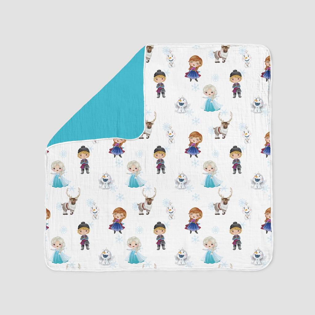 Winter Friends Deluxe Muslin Quilt
