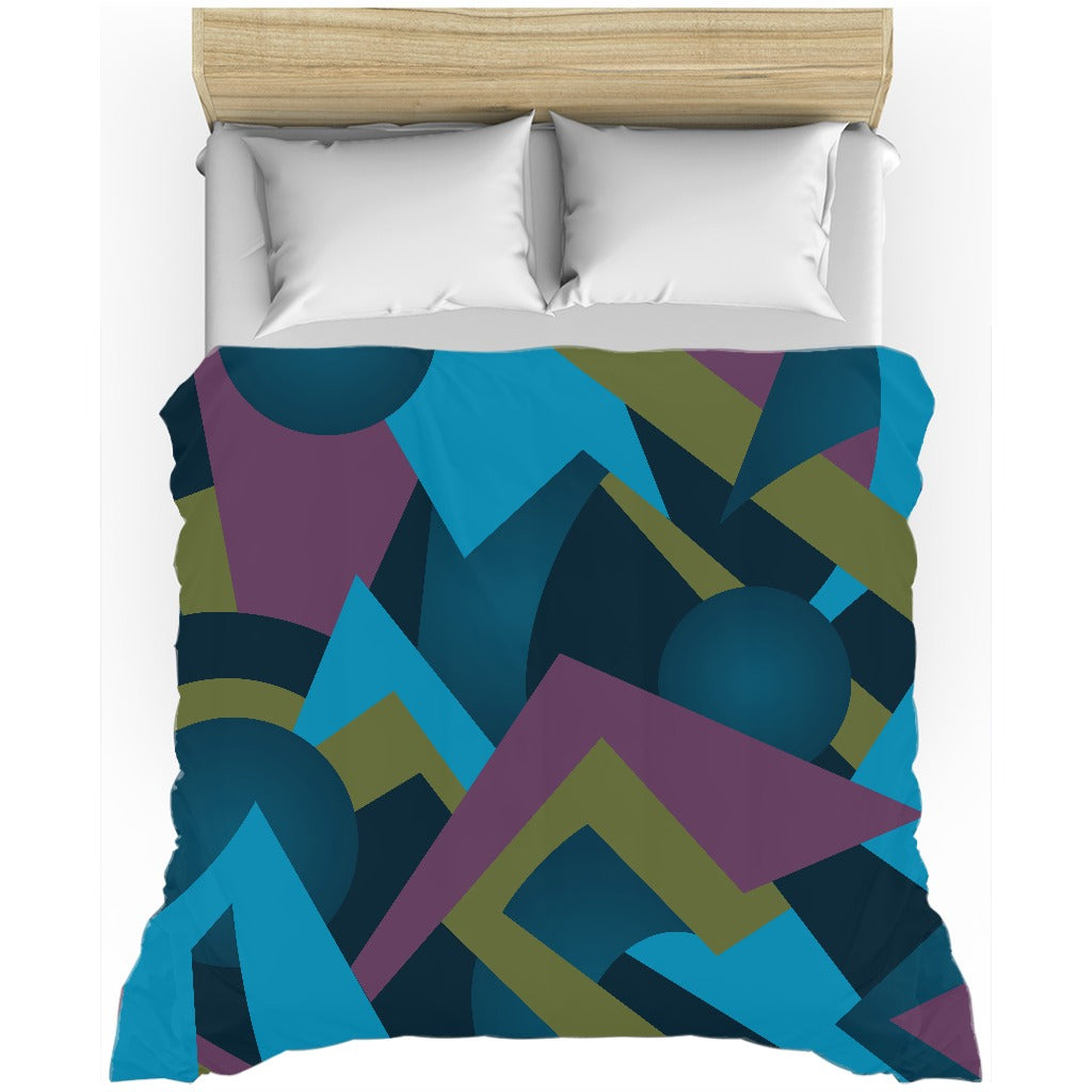 Duvet Covers: Cerulean Reverie